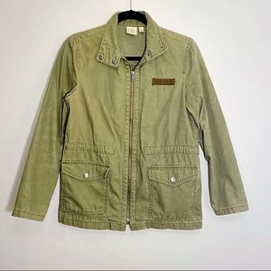 BP Nordstrom| Green Cargo Jacket Size XS